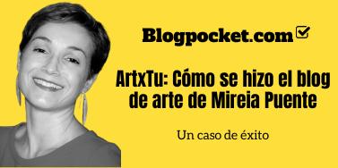 ArtxTu: Cómo se hizo el blog de arte de Mireia Puent