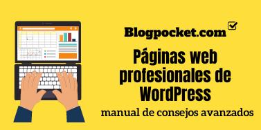 Páginas web profesionales de WordPress: manual de consejos avanzados