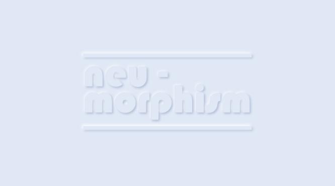 Neumorfismo & # 8211; Diseñando Botones con CSS
