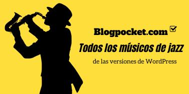 Todos los músicos de jazz de las versiones de WordPress
