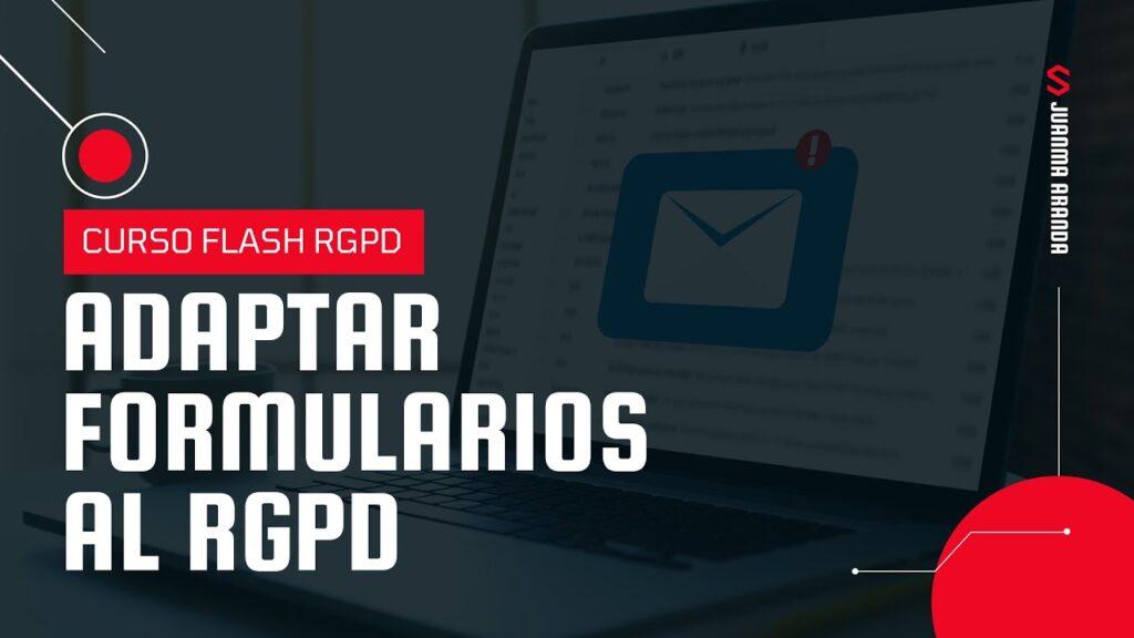 Adaptar formularios de WordPress al RGPD